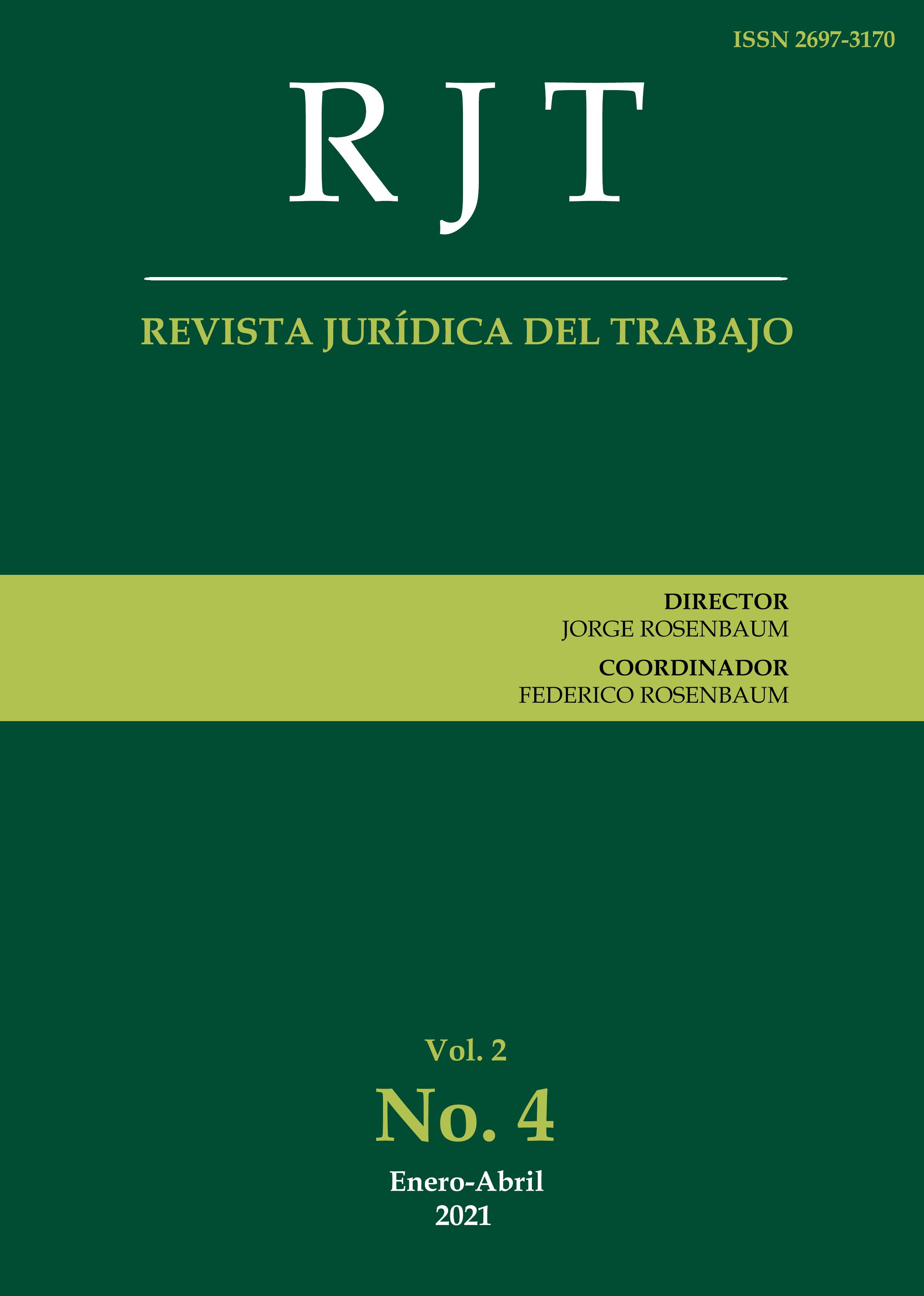 Ver Vol. 2 Núm. 4 (2021): Nº 4